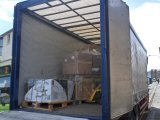 Lorry Delivering Large Pallet of Picture Frames
