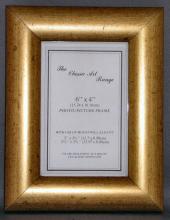 G Range - Dome Gold Picture Frame