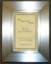 G Range - Silver on Silver Picture Frame