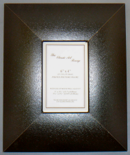 I Range - Brown Leather Effect Picture Frame