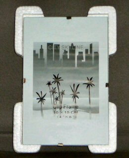 Clip Picture Frame - Traditional Glass