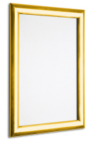 Gold Polished Snap Frames for high quality advert display.